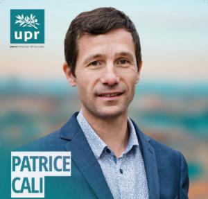 Patrice cali, Tête de liste «Vos idées en lumière»